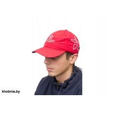 Бейсболка хлопок красная SARGAN SARBK RED