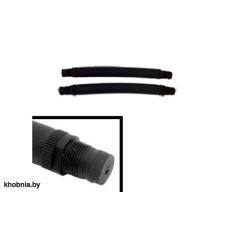 Тяги латекс черные D18мм, (парные) длина 14 см SARGAN GESB5214
