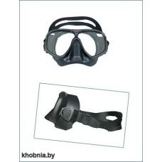 Маска с черным силиконом WAHOO Imersion для подводной охоты