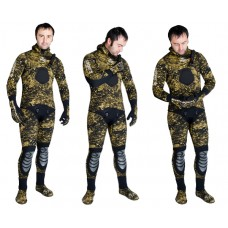"""Гидрокостюм Для подводной охоты Сарган """"СТАЛКЕР"""" 7 мм SARGAN ST7L"""