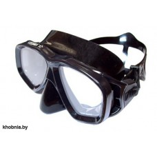 """Маска """"ДЕЛЬТА"""" черн.силикон черная рамка SARGAN для подводной охоты"""