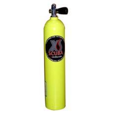 Баллон xs scuba, алюм, 4,6 л, желт., вентиль