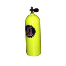 Баллон xs scuba 3 литра желтый , вентиль