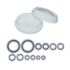 Набор орингов 12шт разного диаметра в пластиковом боксе saekodive ao01