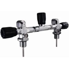 Манифол для спарки, 214 мм, для баллонов d 203 мм, 300 bar