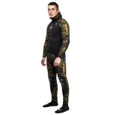 Гидрокостюм для подводной охоты сенеж камуфляж рдест 2.0 9 мм Новый крой