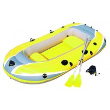 Лодка надувная bestway, 262*145см