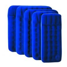 Кровать надувная флок, 203х152х22см