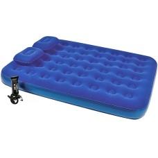 Матрас надувной queen 203х152х22 с ручным насосом и 2 подушками