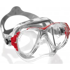 Маска cressi eyes evolution crystal прозрачный силикон