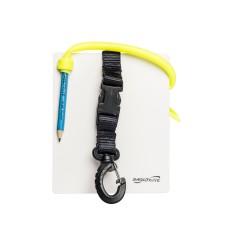 Слейт подводный saekodive aw12 для записей, 12.5 cm (w) x 15.0 cm (l) , с графитовым карандашом