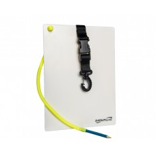 Слейт подводный saekodive aw13 для записей, 21.0 cm (w) x 29.0 cm (l) , с графитовым карандашом