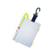 Слейт подводный saekodive aw20 для записей, двухстраничный, 12.5 cm (w) x 18.5 cm (l)., с графитовым карандашом