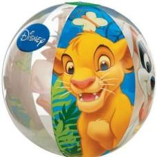 """Мяч надувной """"король лев"""", 3+"""
