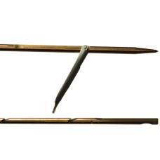Гарпун сарган, д/арбалетов, зацеп-прорез, сталь 174 ph, d 6,5мм, 125 см, 1 флажок