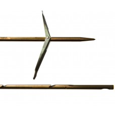 Гарпун сарган, д/арбалетов, зацеп-прорез, сталь 174 ph, d 6,5мм, 125 см, 2 флажка