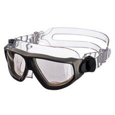 Плавательные очки-полумаска ist argo , прозрачный силикон, дымчатые линзы