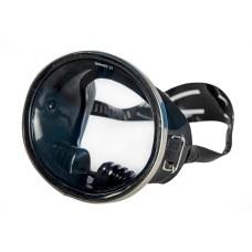 Маска saekodive, ссср , черный силикон, стальная оправа