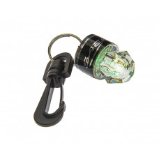 Дайвинг фонарь saecodive маленький мигающий с карабином