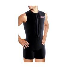 Гидрокостюм cressi zip vest 3 мм с передней молнией, короткий