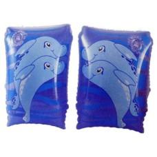 Нарукавники надувные дельфин, 25*15см