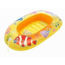 Надувная лодочка рыбки 112х71 см
