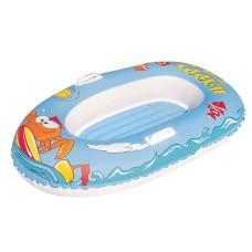 Лодка для плавания надувная крабики, 137*89см