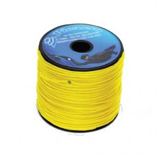 Линь-дайнема picasso 1,7 мм, на разрыв 360кг, шпуля 100 метров - желтый, цена за 1 метр