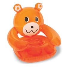 Надувное кресло медведь86х84х84 см