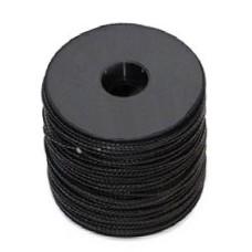 Линь picasso нейлоновый 1,5мм, шпуля 100м, черный (за 1 метр)