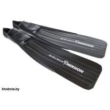 Ласты для подводной охоты черные с зак.пяткой Imersion PNI38
