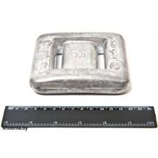 Груз САР 2 кг без покрытия Для подводной охоты Сарган